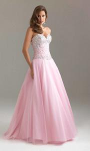 pink prom dress makeup