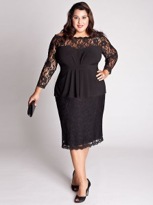 plus dresses for wedding guests
