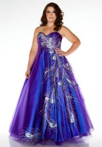 plus prom dresses under 100