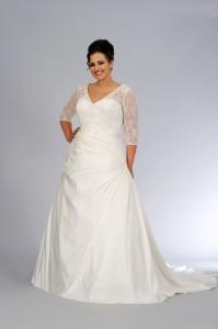 plus size dresses for wedding 4