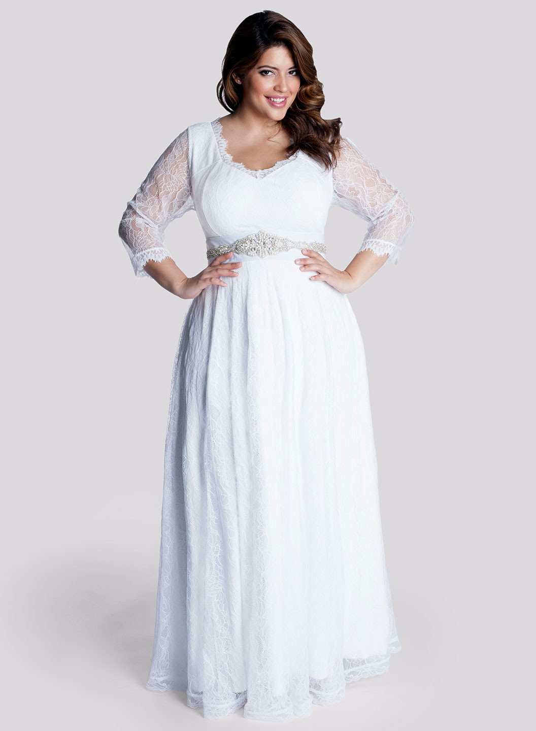 Plus size dresses for wedding guest style jeans for Plus size wedding dresses for cheap