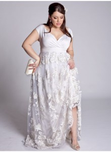 plus size dresses for wedding reception