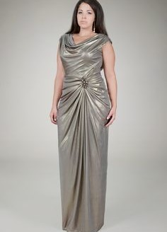 plus size evening gown 2
