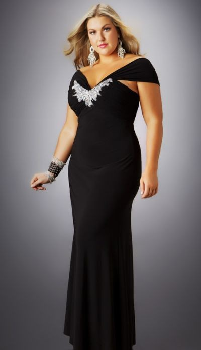 Plus size evening gown dresses - Style Jeans