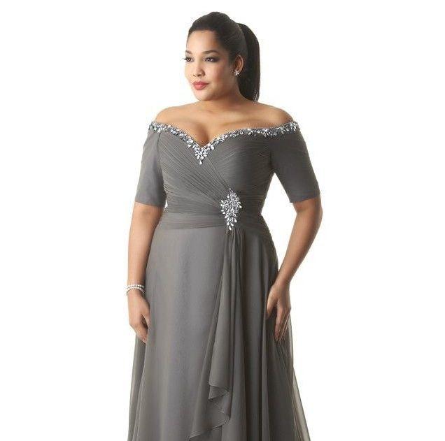 Long Plus Size Evening Dresses Fashion