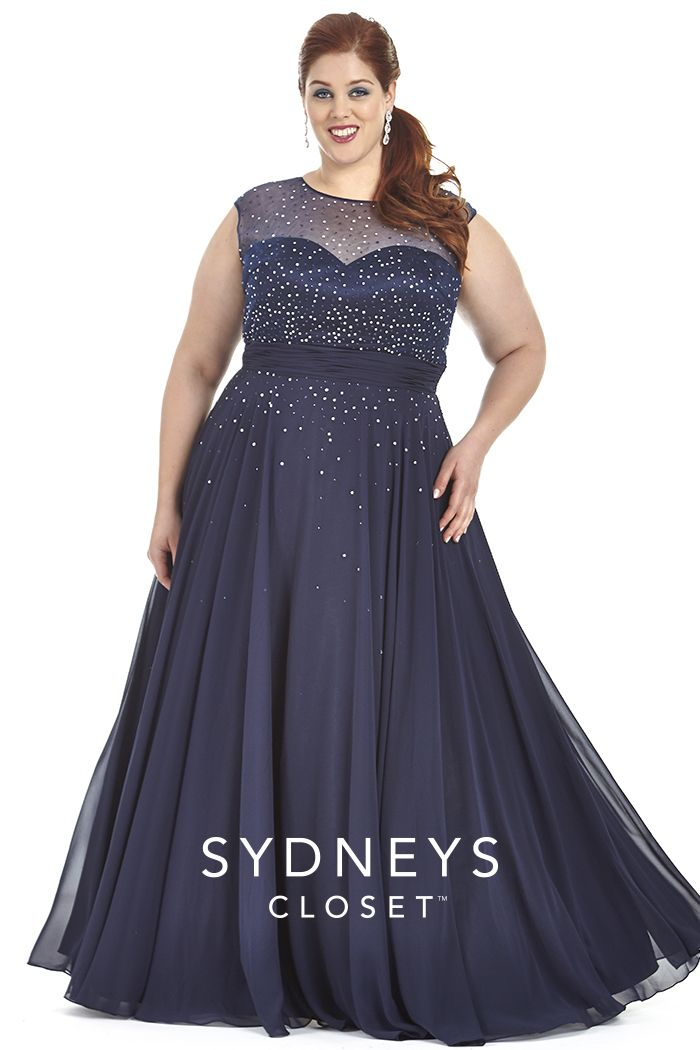 Plus size formal gowns black - Style Jeans