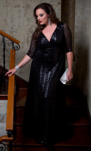 plus size formal gowns canada