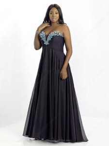 plus size formal gowns under 100