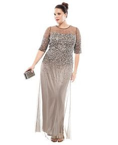 plus size gown 2