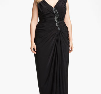 plus size gown