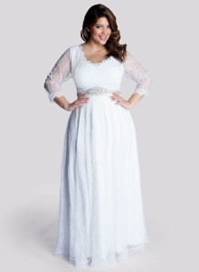 plus size gown designers