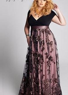 plus size gown dresses