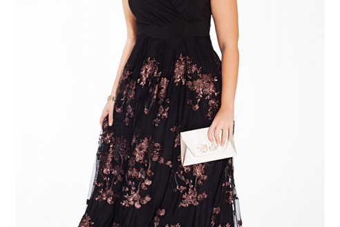 plus size gown rental
