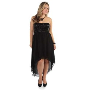 plus size high low dresses 2