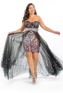 plus size high low dresses 3