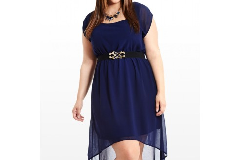 plus size high low dresses uk