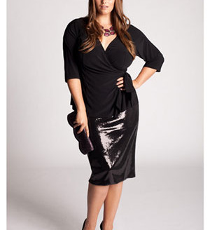 plus size holiday dresses with sleeves