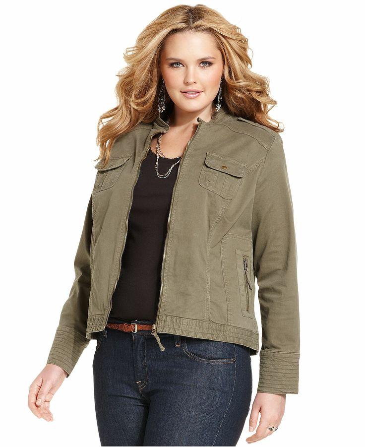 Plus Size Jacket Dresses Style Jeans