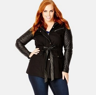 plus size jacket pattern