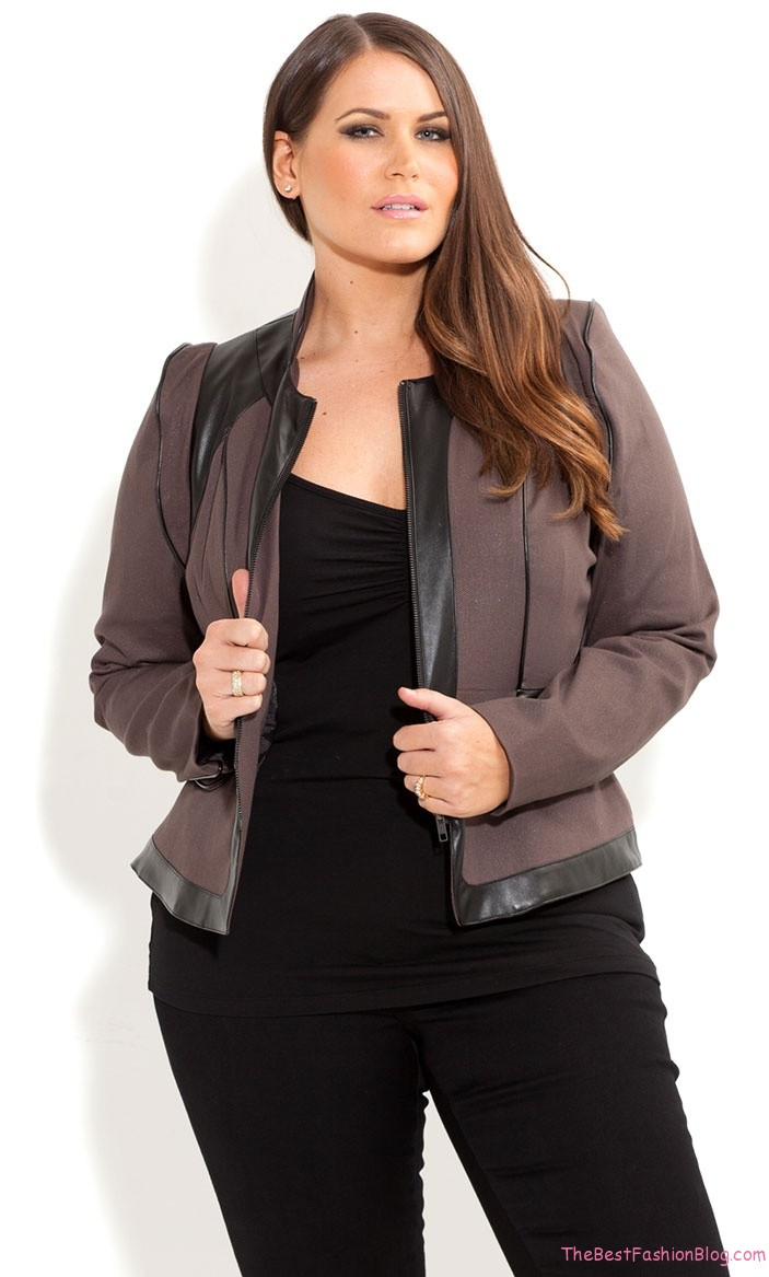 Plus size jacket dresses - Style Jeans