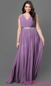 plus size prom dress stores