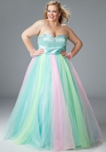 plus size prom dresses near me