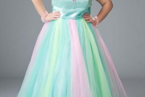 plus size prom dresses near me