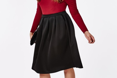 plus size skirt outfits