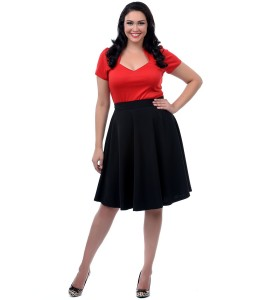plus size skirt suits clearance