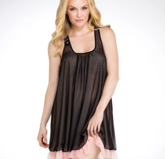 plus size sleepwear with bust support