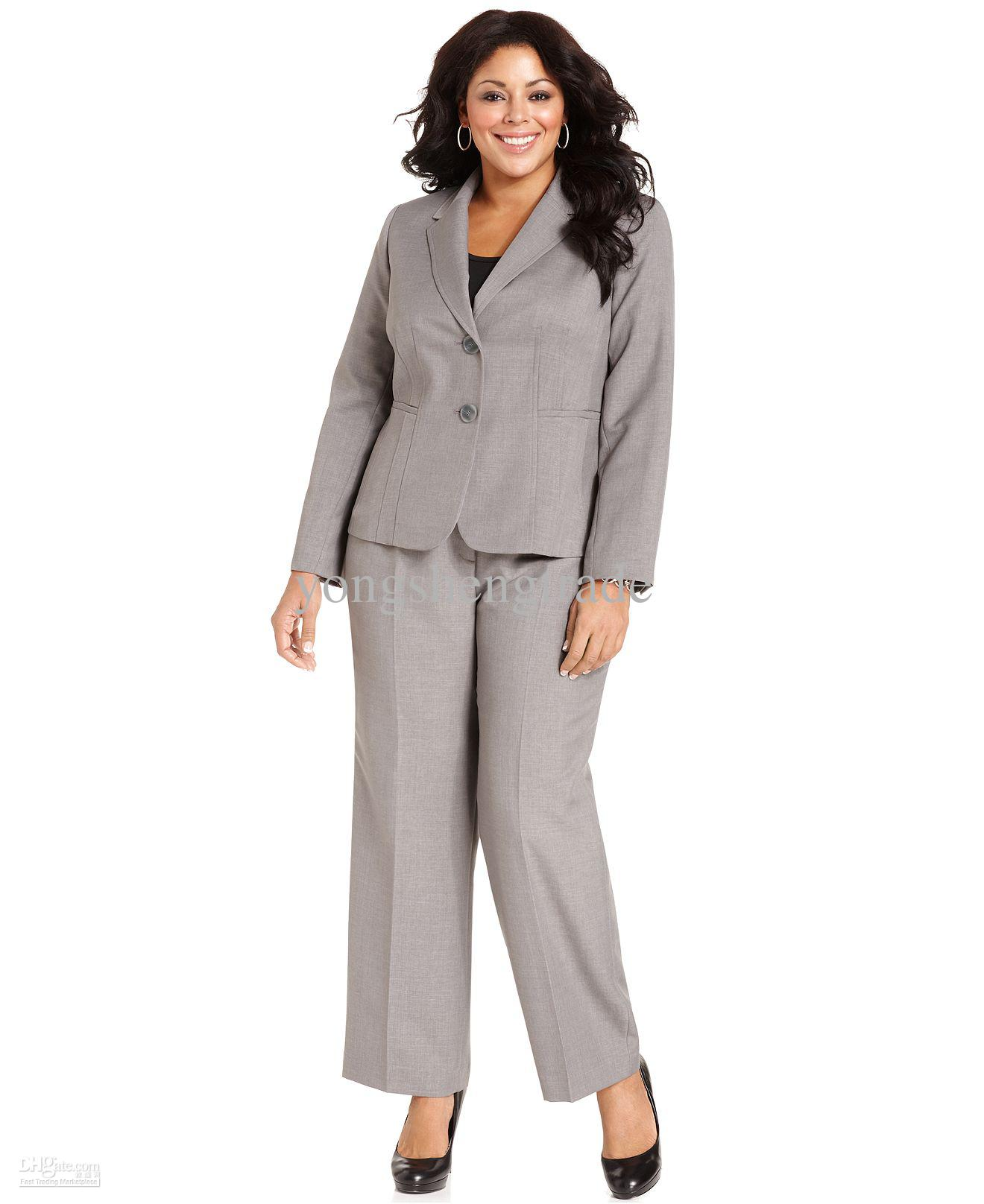 Plus Size Work Clothes Show off taste, smarts and beauty in fierce, flattering plus size work clothes. Display flawless style in the boardroom, cool confidence in .