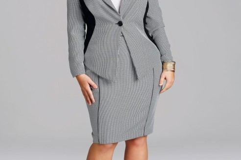 plus size suits for church