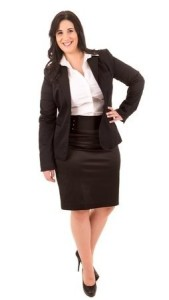 plus size suits for work