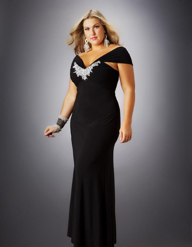 Black dress plus size uk