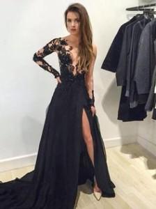 prom dresses black 3