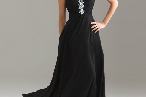 prom dresses black and gold