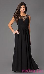 prom dresses black and white