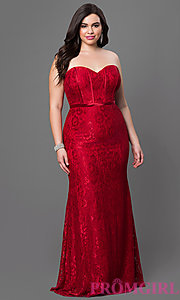 prom dresses for plus size 2016