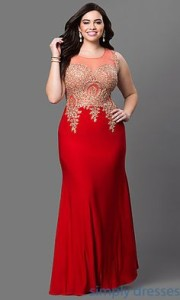 prom dresses for plus size 3