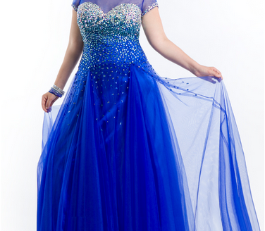 prom dresses for plus size 4