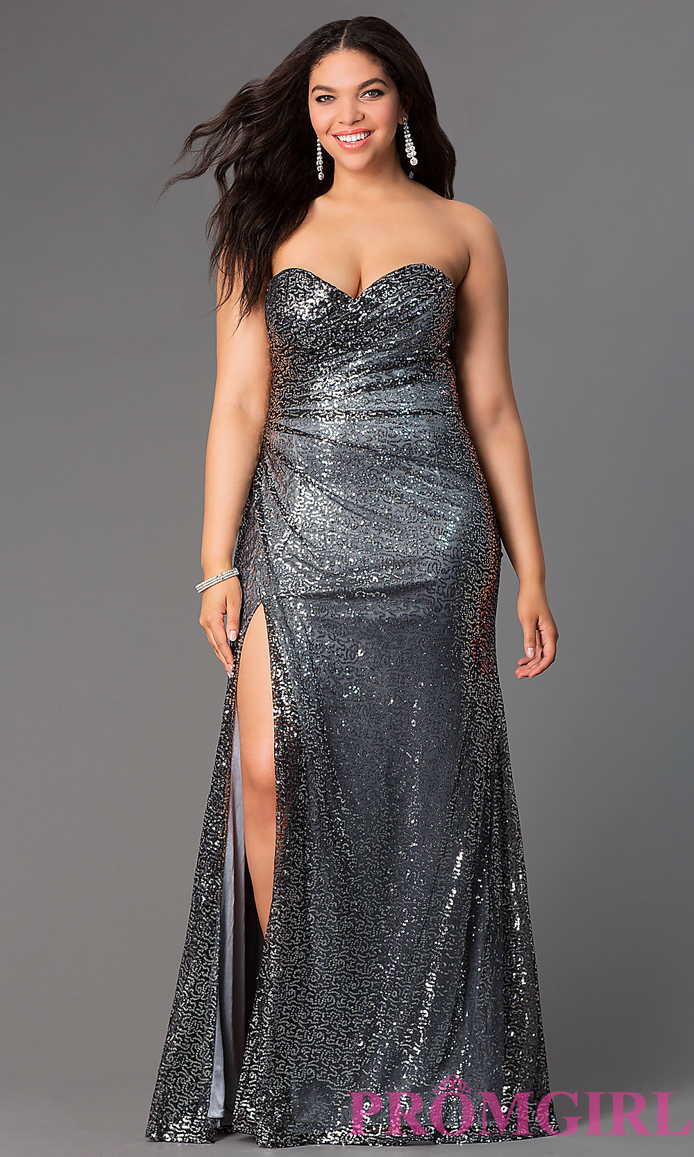 Prom dresses plus size long