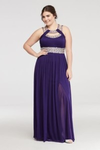 prom dresses plus size dillards