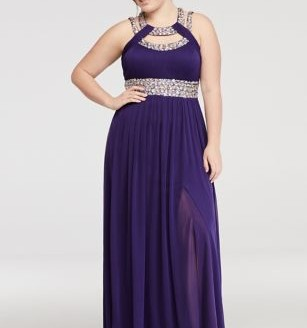 prom dresses plus size dillards