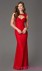 Red evening dresses size 2