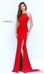 red evening dresses uk