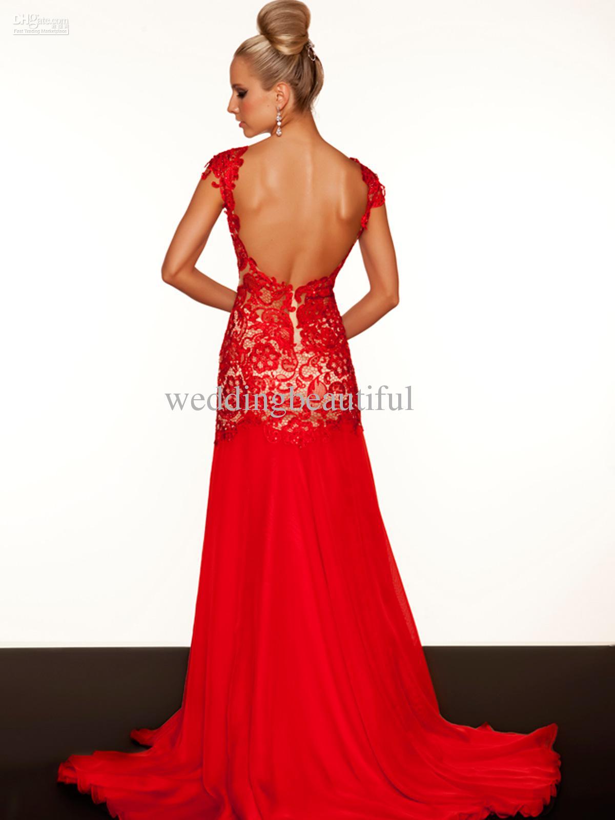 Red Evening Dresses | rucetk