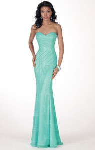 strapless prom dresses plus size