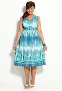 sundresses plus size cheap