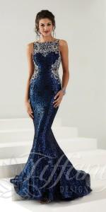 tiffany prom dresses size chart