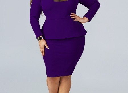trendy plus size dresses 2